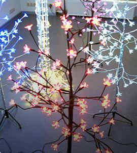 Комнатные деревья Сакура светодиодные