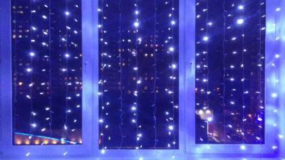 Светодиодный дождь 1,5*1,0м серия Home