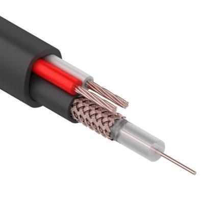 Кабель для видеонаблюдения КВК, комбинированные кабеля ШВЭВ и ШВЭП