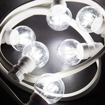 Белт Лайт - гирлянда для уличного освещения с патронами под цоколь типа Е27